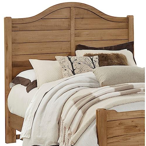 Bassett Furniture Milford Ct: Vaughan Bassett American Maple Solid Wood Queen Shiplap