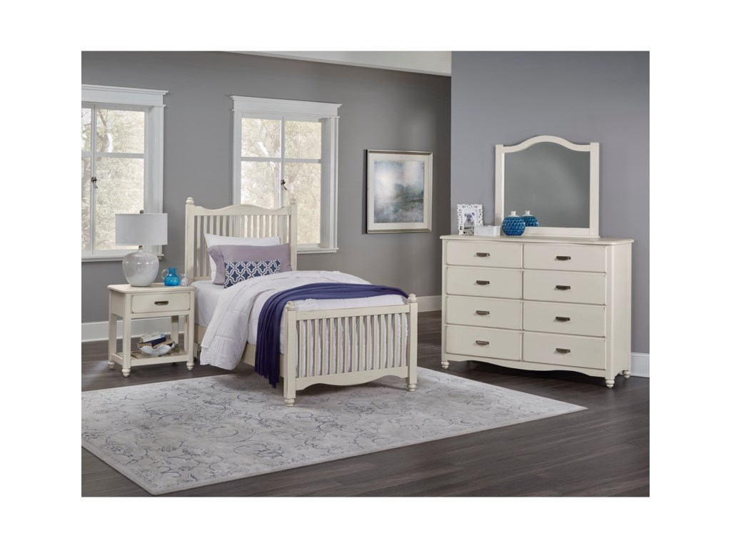 Vaughan Bassett American MapleTwin Bedroom Group