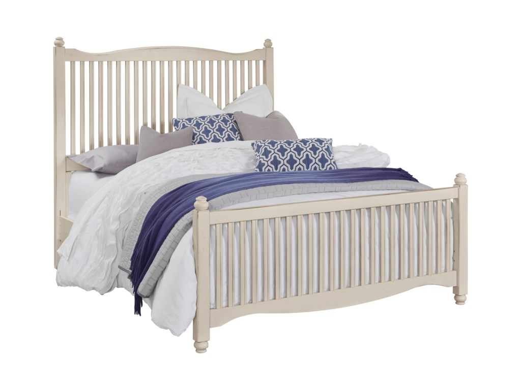Vaughan Bassett American MapleKing Slat Bed