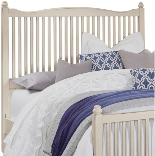 Vaughan Bassett American Maple Solid Wood Queen Slat Headboard