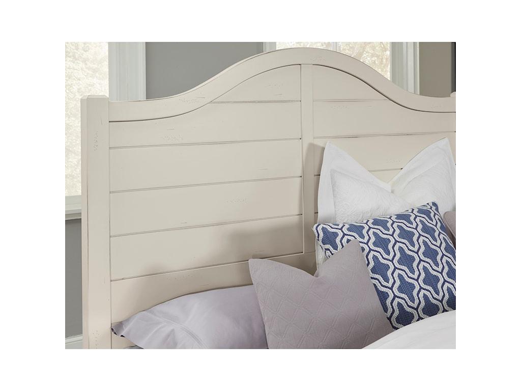 Vaughan Bassett American MapleKing Shiplap Bed