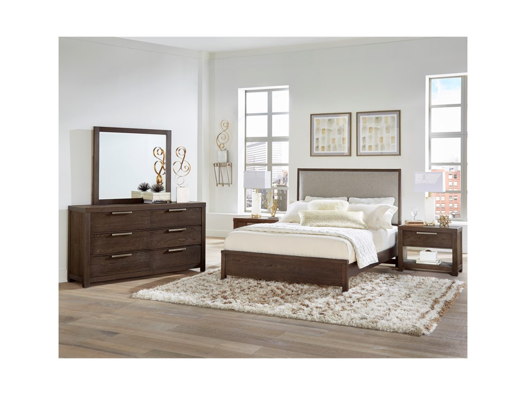 Vaughan Bassett American ModernQueen Bedroom Group