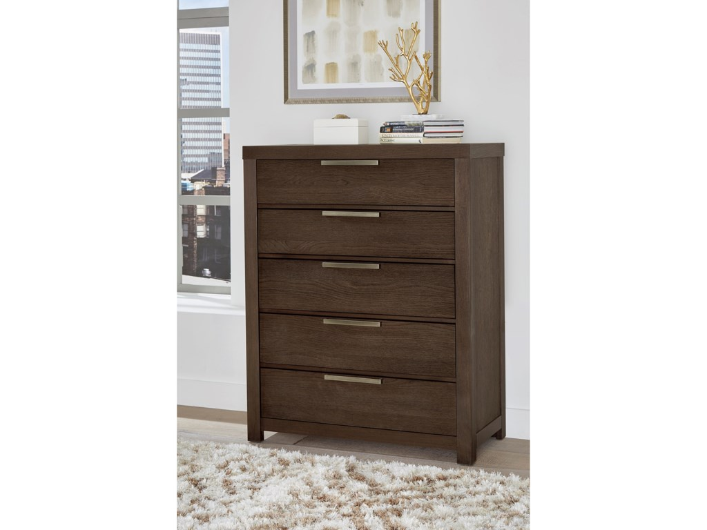 Vaughan Bassett American Modern5 Drawer Chest