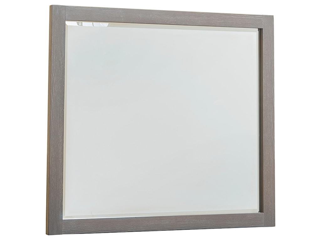 Vaughan Bassett American ModernLandscape Mirror - Beveled Glass