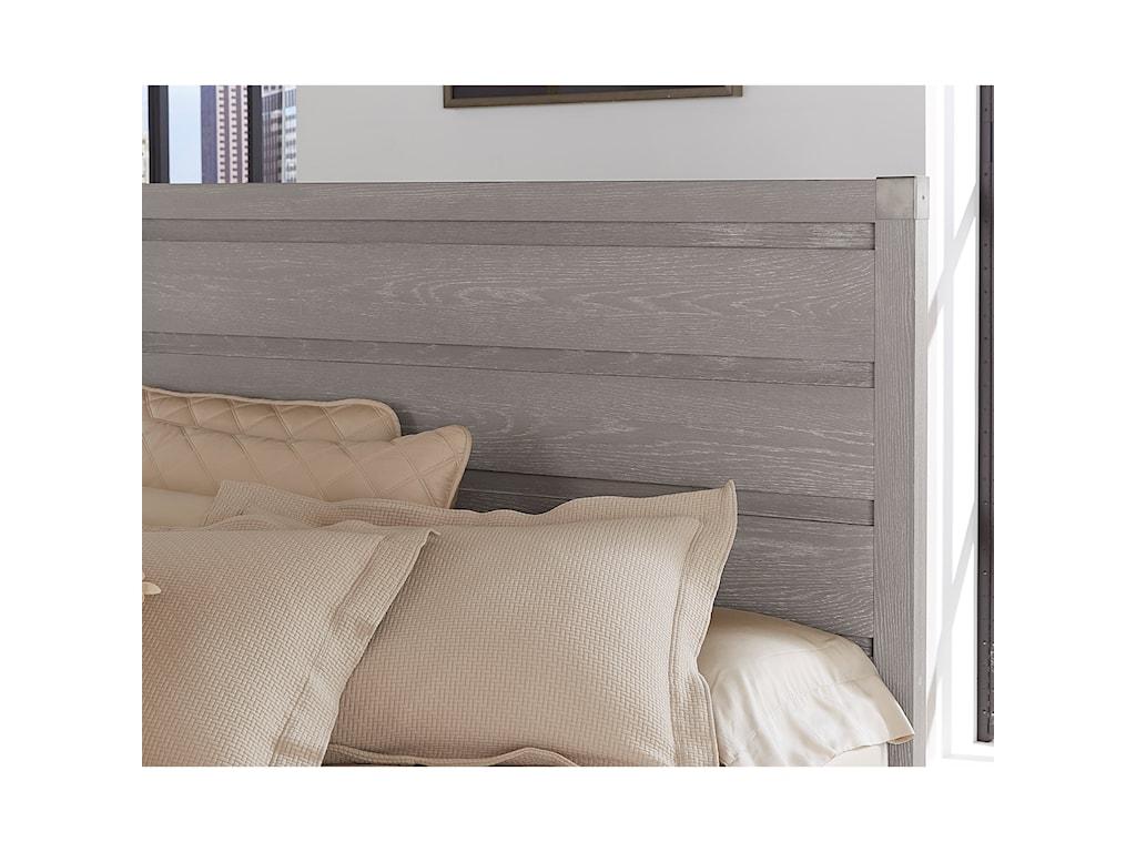 Vaughan Bassett American ModernQueen Plank Bed
