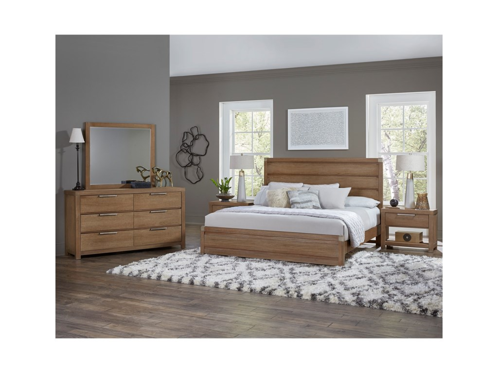 Vaughan Bassett American ModernKing Bedroom Group