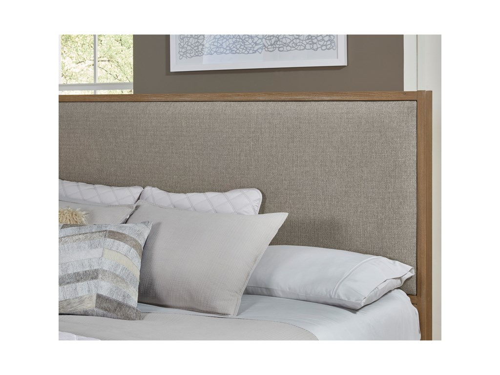Vaughan Bassett American ModernKing Upholstered Bed