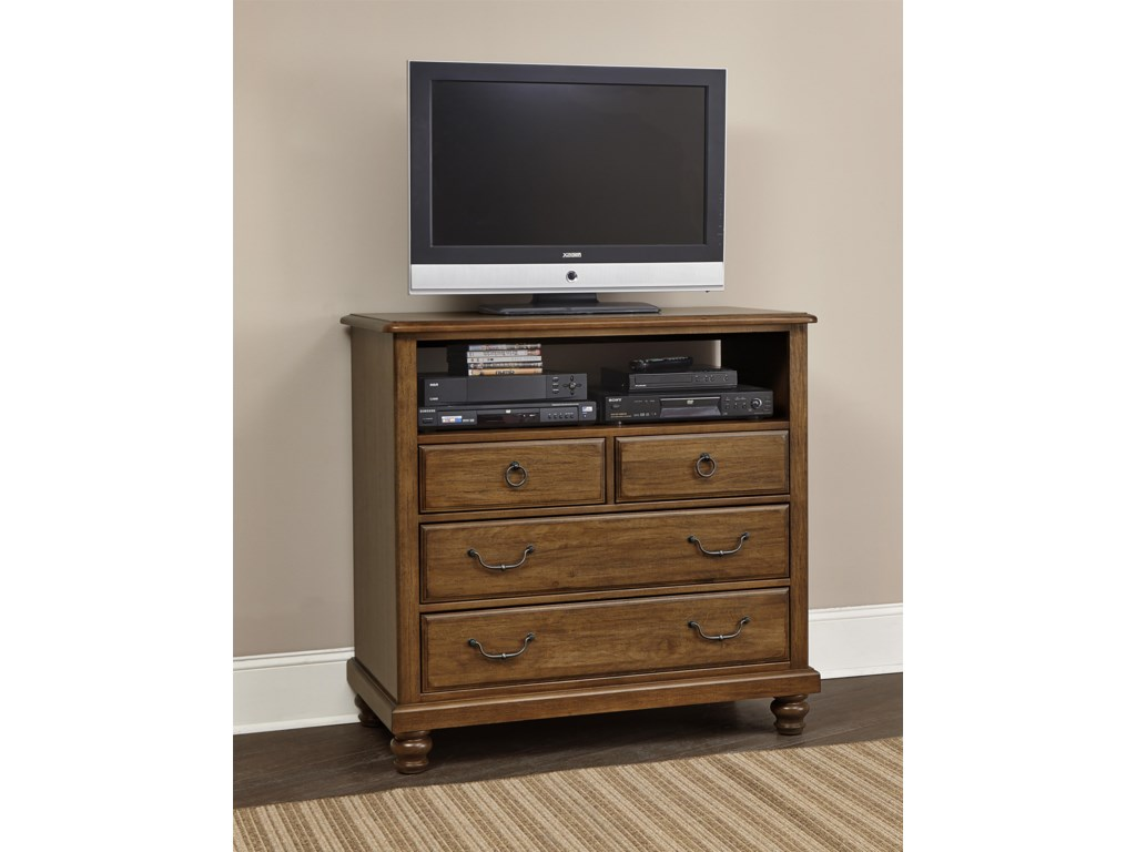 Vaughan Bassett ArrendelleMedia Unit - 4 Drawers