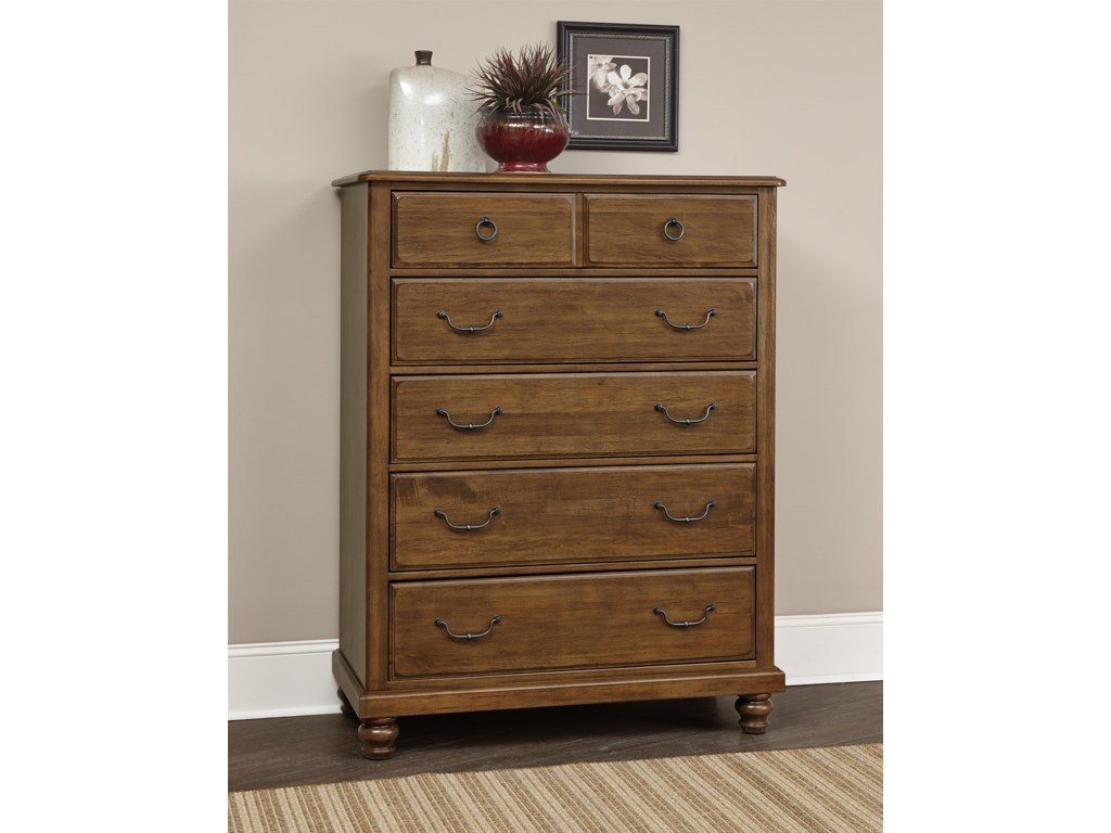 Vaughan Bassett ArrendelleChest - 5 Drawers