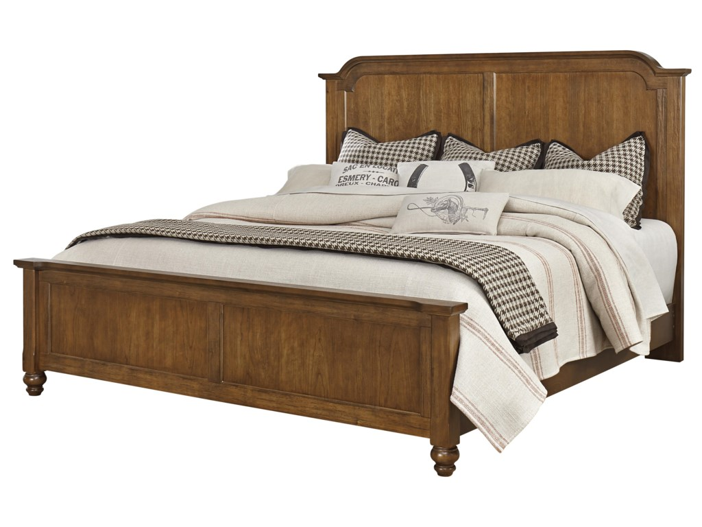 Vaughan Bassett ArrendelleQueen Mansion Bed