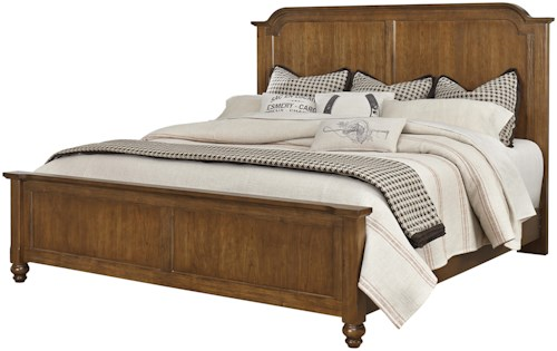 Vaughan Bassett Arrendelle Transitional King Mansion Bed