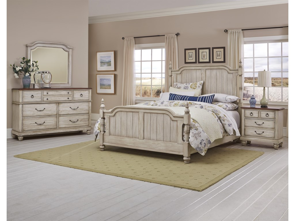 Vaughan Bassett ArrendelleKing Bedroom Group