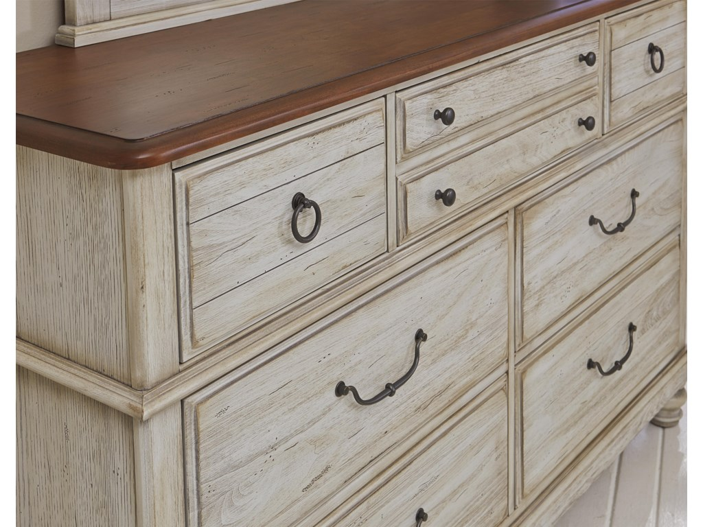 Vaughan Bassett ArrendelleDresser - 7 Drawers