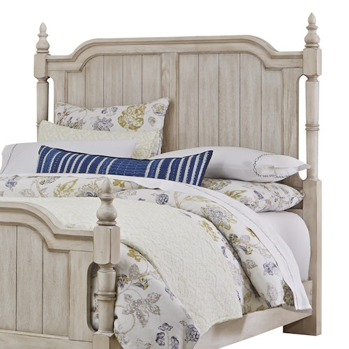 Vaughan Bassett Arrendelle Transitional Queen Poster Headboard