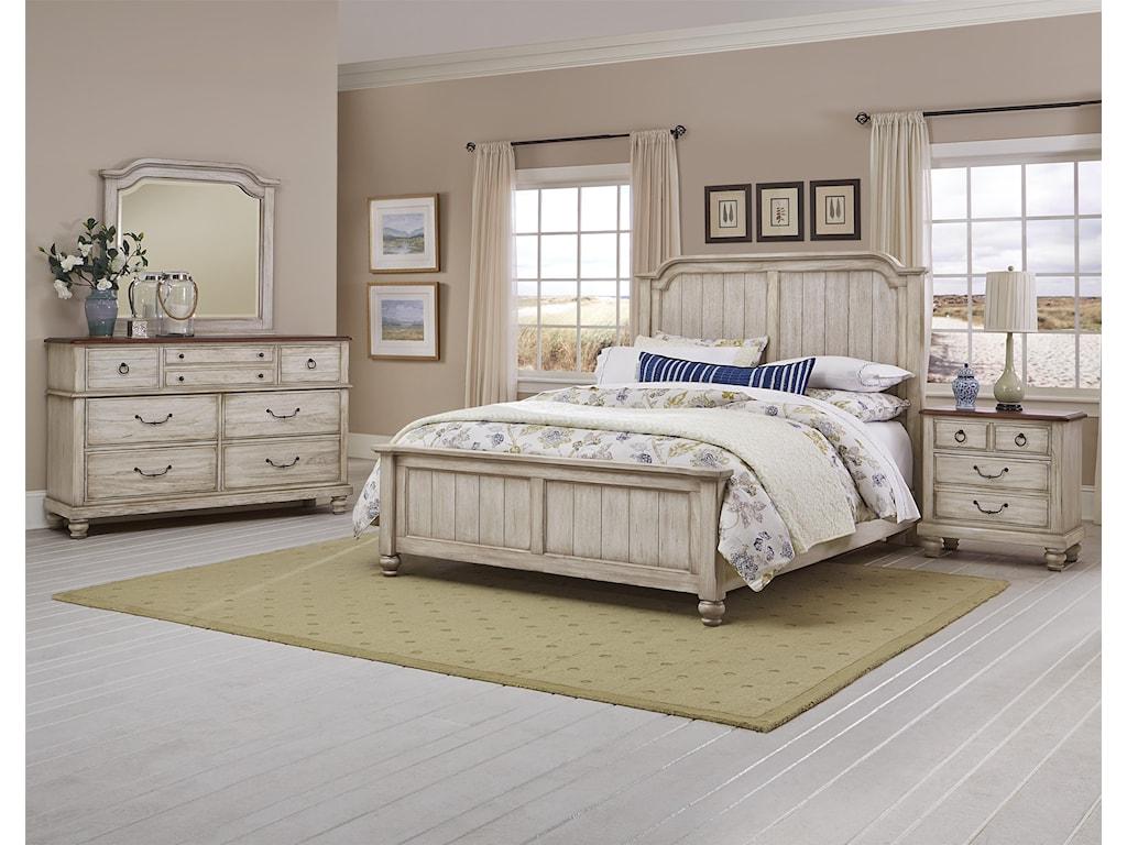 Vaughan Bassett ArrendelleKing Mansion Bed