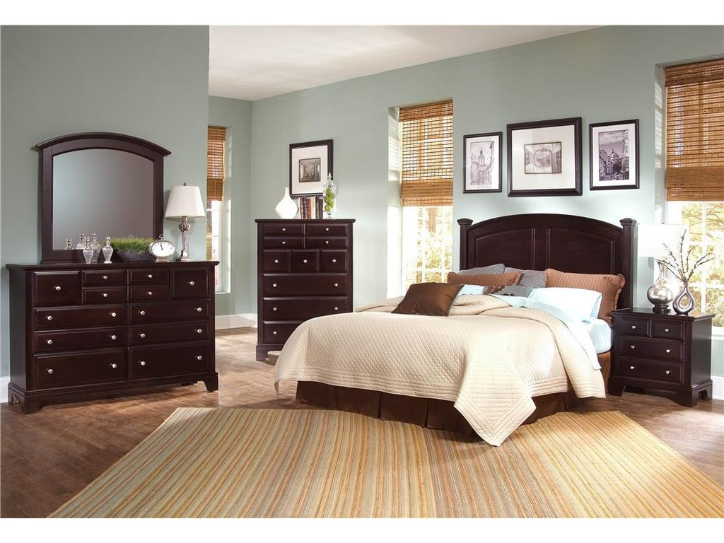 Vaughan Bassett Hamilton/FranklinFull/Queen Bedroom Group