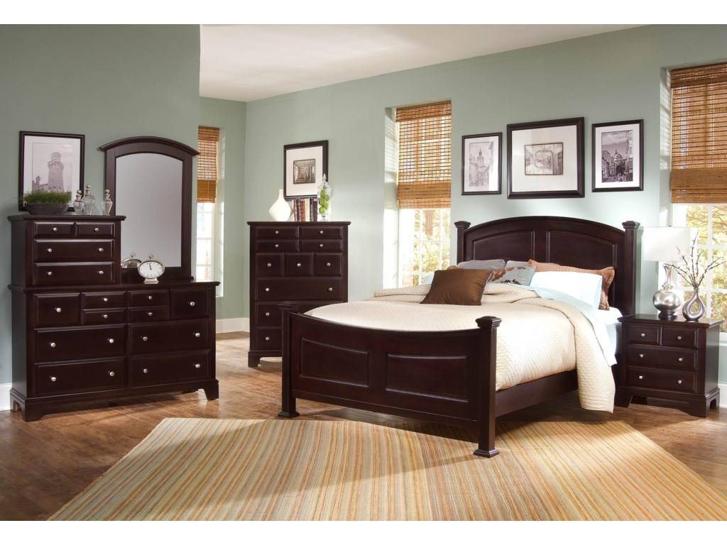 Vaughan Bassett Hamilton/FranklinQueen Bedroom Group