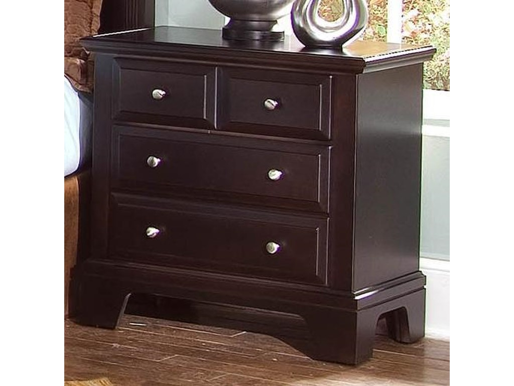Vaughan Bassett Hamilton/FranklinNight Stand - 2 drawers