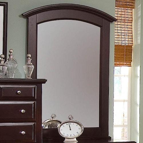 Vaughan Bassett Hamilton Vertical Vanity Mirror