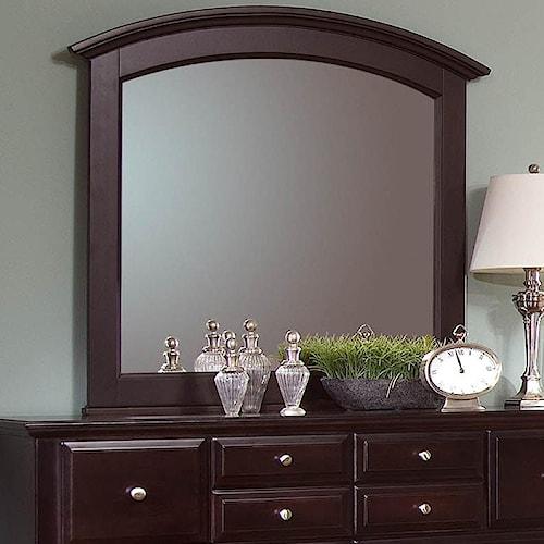 Vaughan Bassett Hamilton Franklin Rectangular Mirror Turk Furniture Dresser Mirrors Joliet