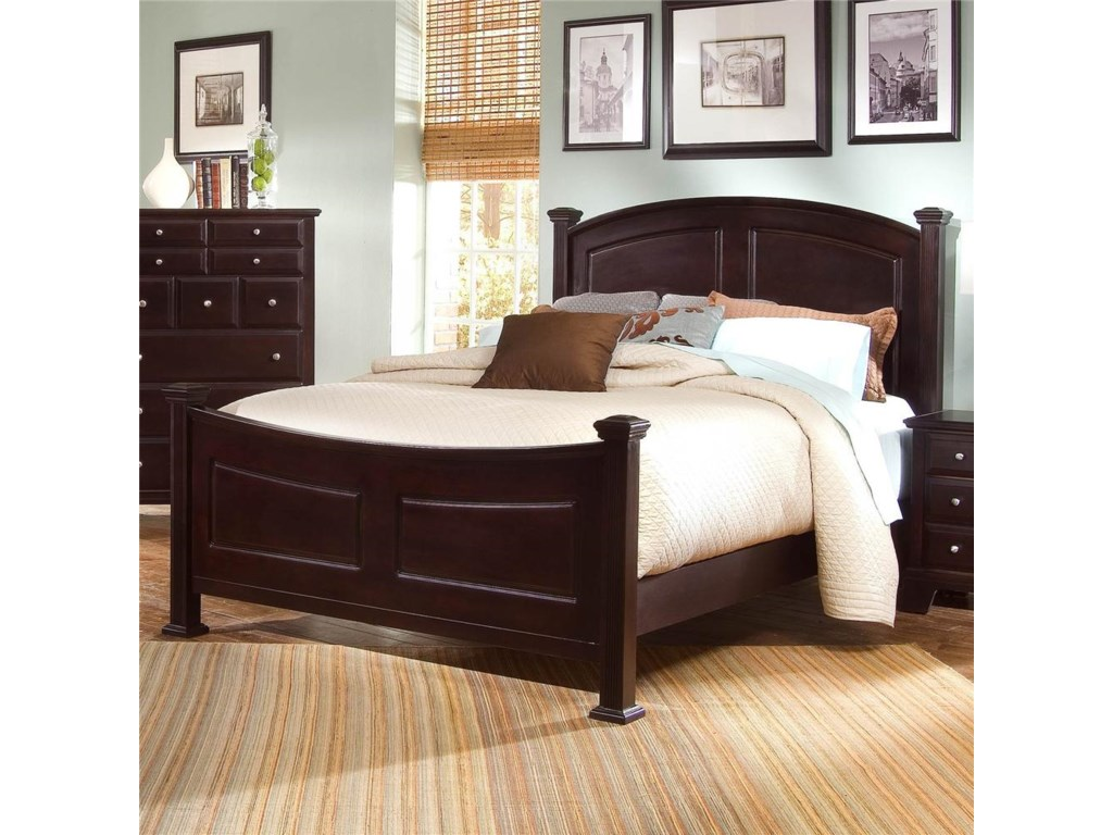 Vaughan Bassett SohoKing Panel Bed