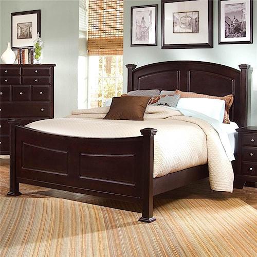 Vaughan Bassett Hamilton/Franklin Full Panel Bed