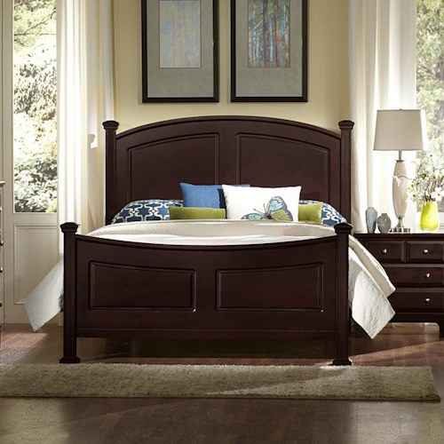 Vaughan Bassett Hamilton Queen Panel Bed