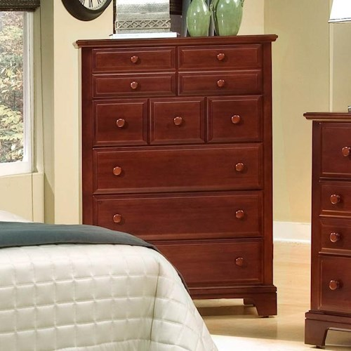 Vaughan Bassett Hamilton Franklin Chest with 5 Drawers