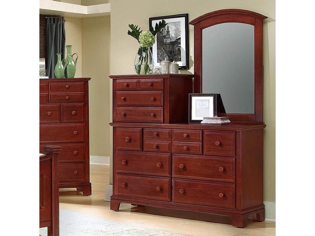 Shown with vanity dresser