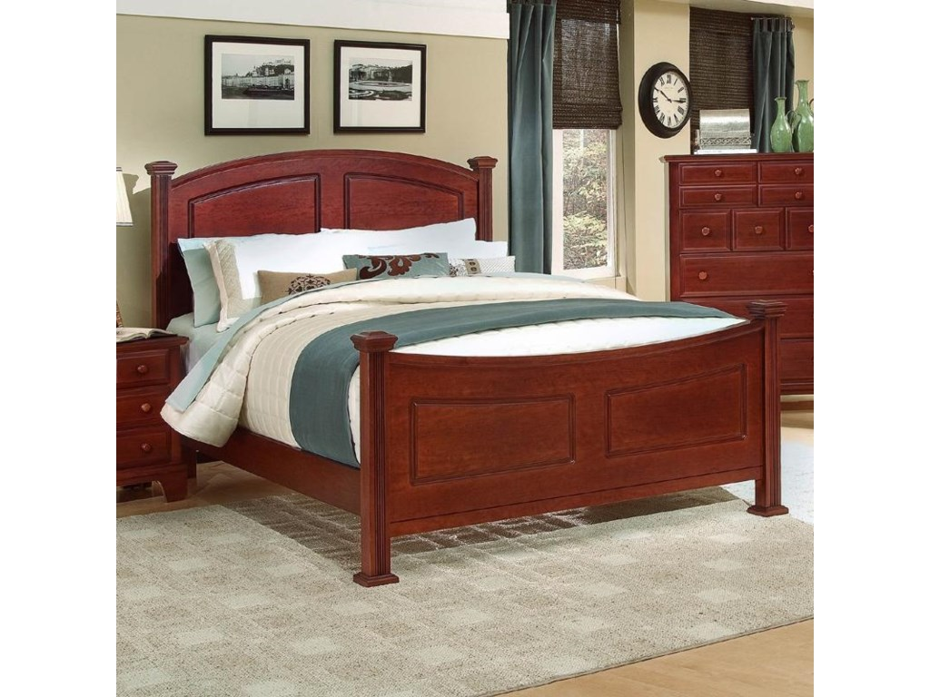 Vaughan Bassett Hamilton/FranklinCalifornia King Panel Bed