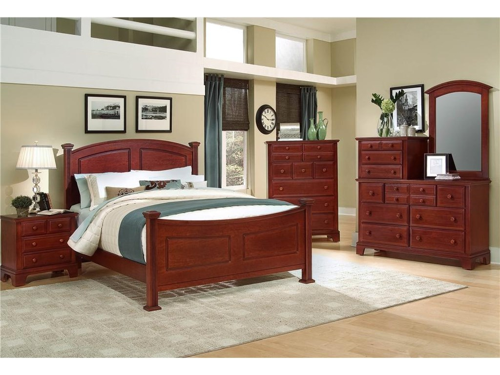 Vaughan Bassett Hamilton/FranklinKing Panel Bed
