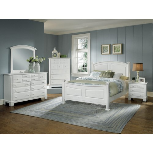 Vaughan Bassett Hamilton/Franklin Full Bedroom Group