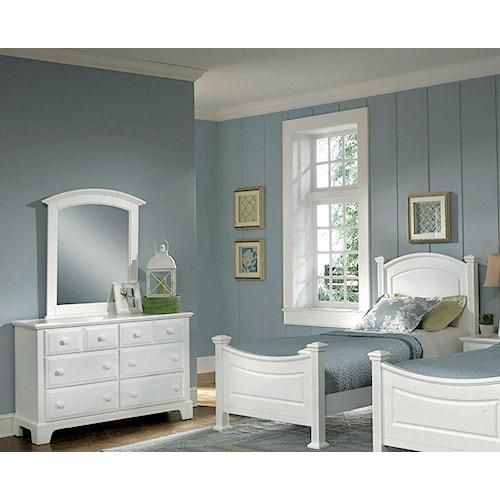 Vaughan Bassett Hamilton Franklin Twin Bedroom Group
