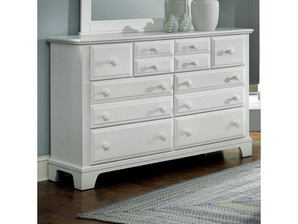 Vaughan Bassett Hamilton/Franklin7 Drawer Dresser Chest