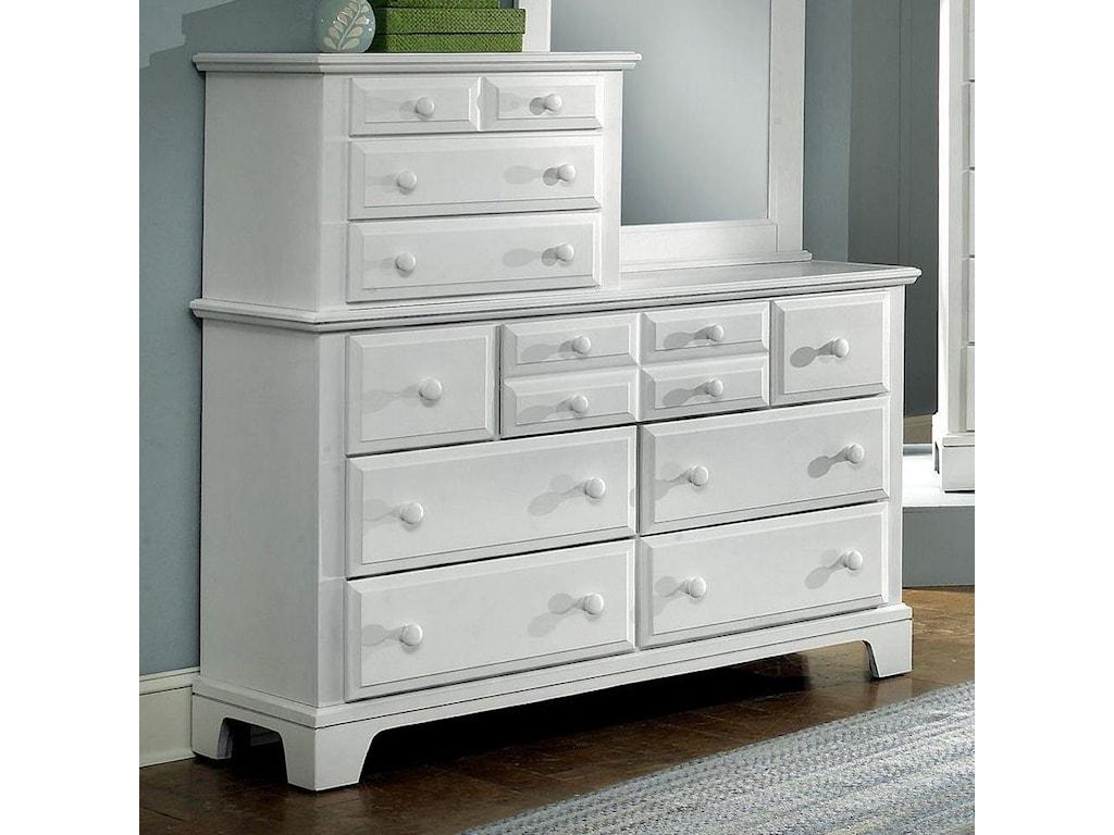 Vaughan Bassett Hamilton/FranklinVanity Dresser