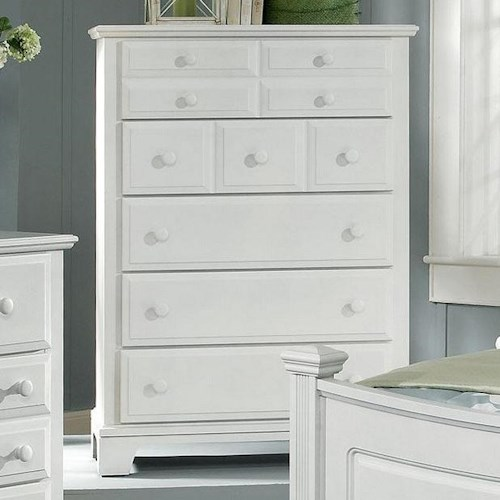 Vaughan Bassett Hamilton/Franklin Chest with 5 Drawers
