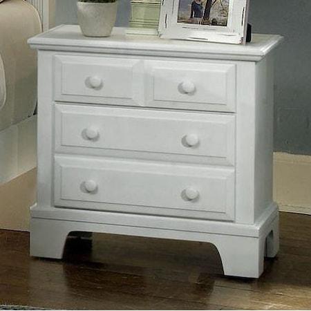 Night Stand - 2 drawers