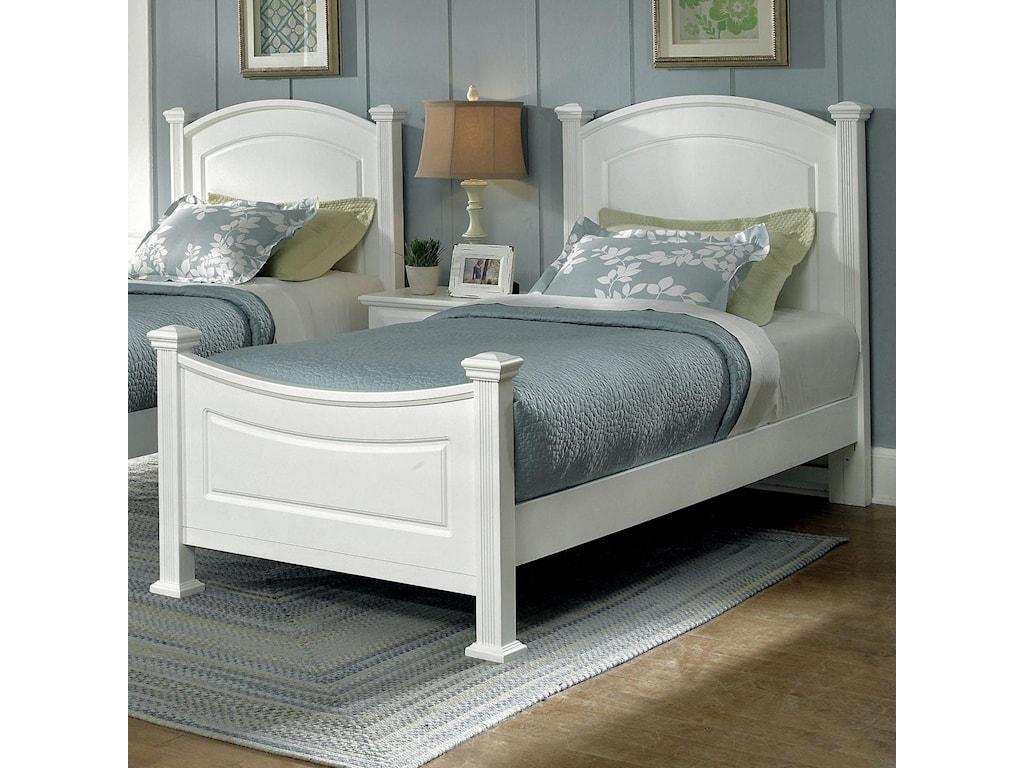 Vaughan Bassett Hamilton/FranklinTwin Panel Bed