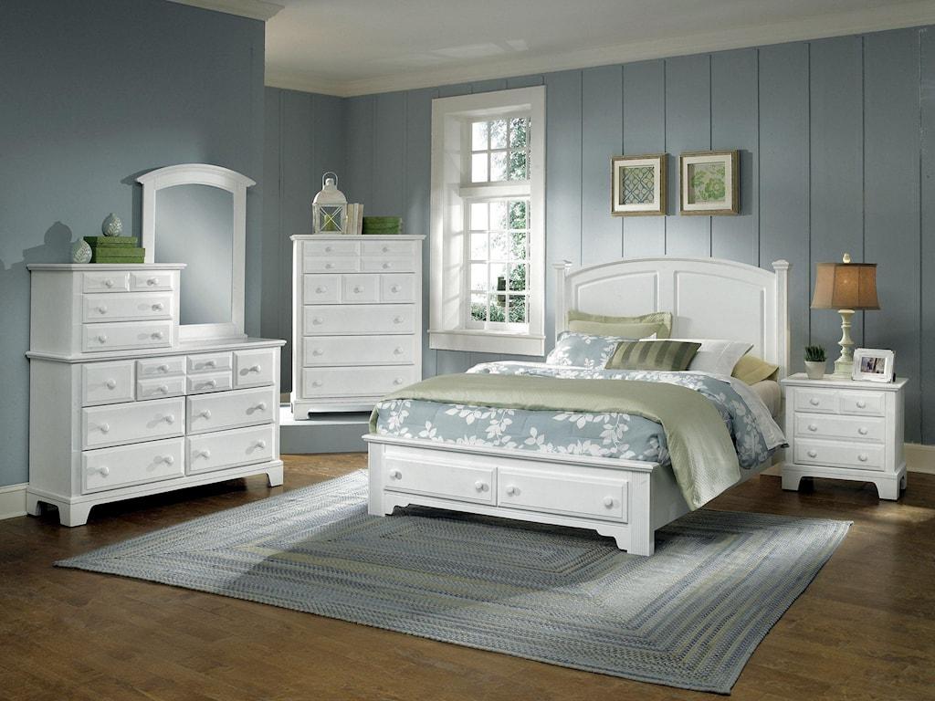 Vaughan Bassett Hamilton/FranklinFull Panel Storage Bed