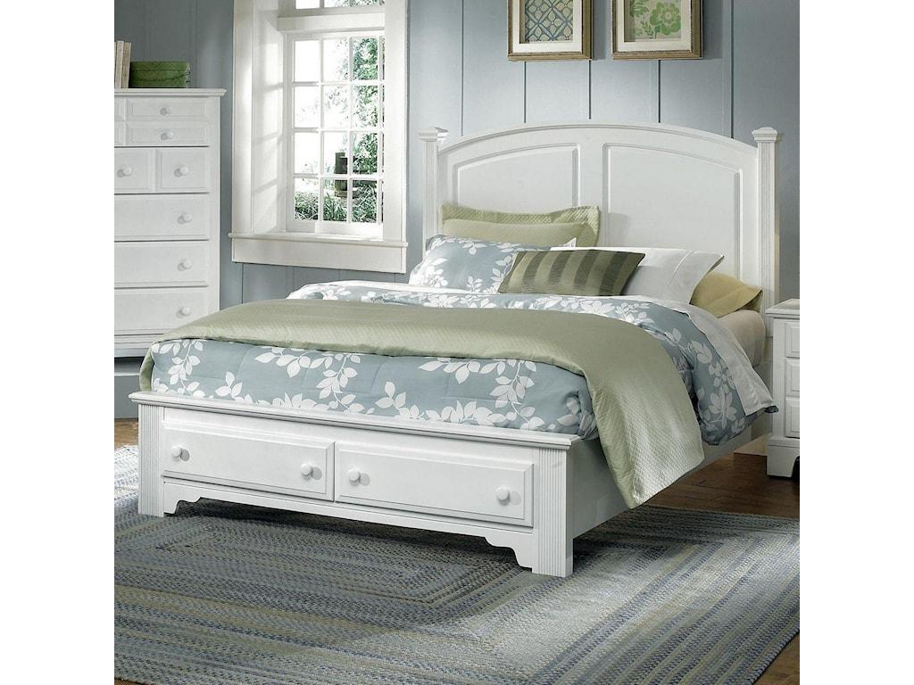 Vaughan Bassett Hamilton/FranklinQueen Panel Storage Bed
