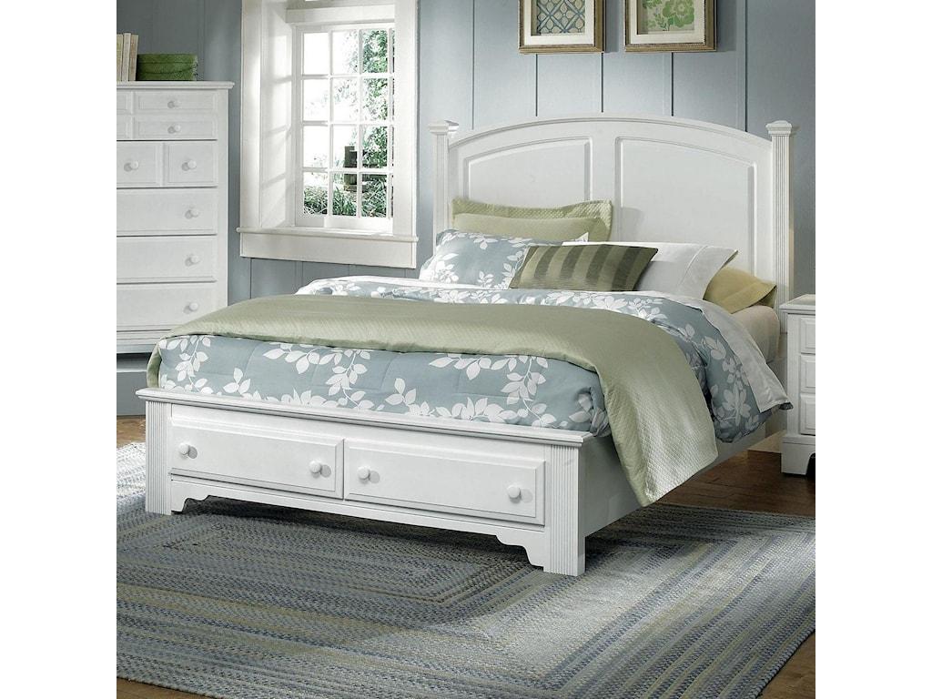 Vaughan Bassett Hamilton/FranklinKing Panel Storage Bed