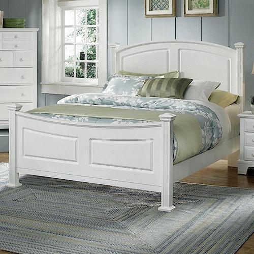 Vaughan Bassett Hamilton/Franklin King Panel Bed