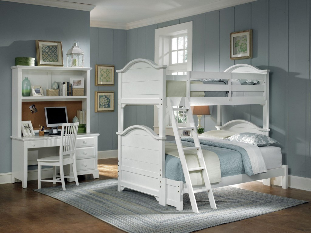 Shown with Hutch, Desk Chair, Bunk Bed with Full Extension