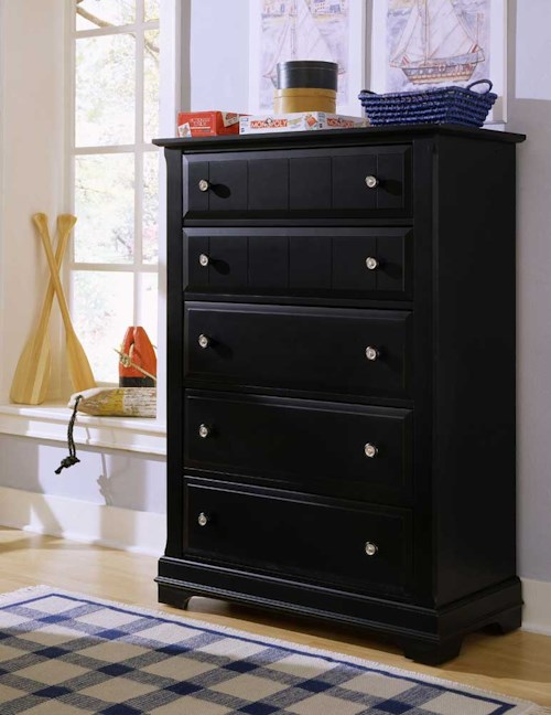 Vaughan Bassett Cottage Five Drawer Chest / Chest of Drawers