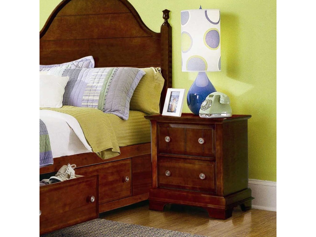 Vaughan Bassett Cottage2 Drawer Nightstand