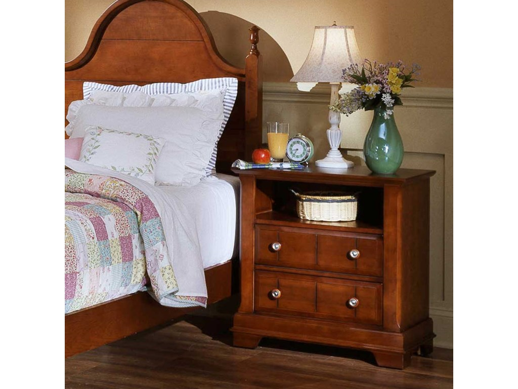 Vaughan Bassett CottageCommode / Nightstand