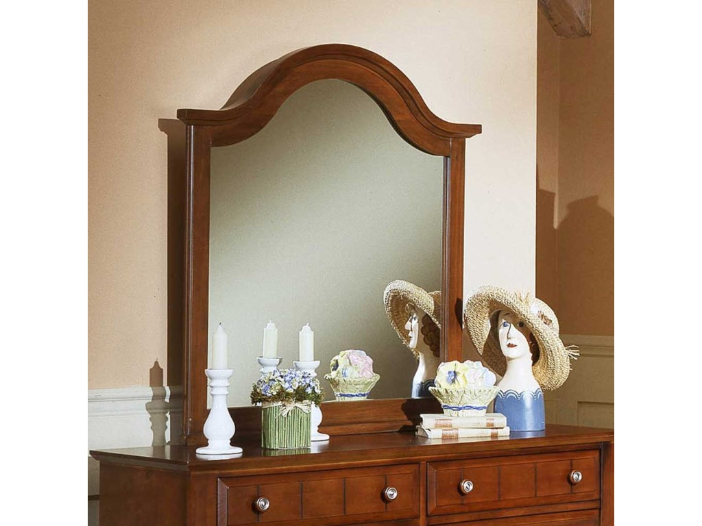 Vaughan Bassett Cottage Mirror / Vertical Dresser Mirror - Great American  Home Store - Dresser Mirrors
