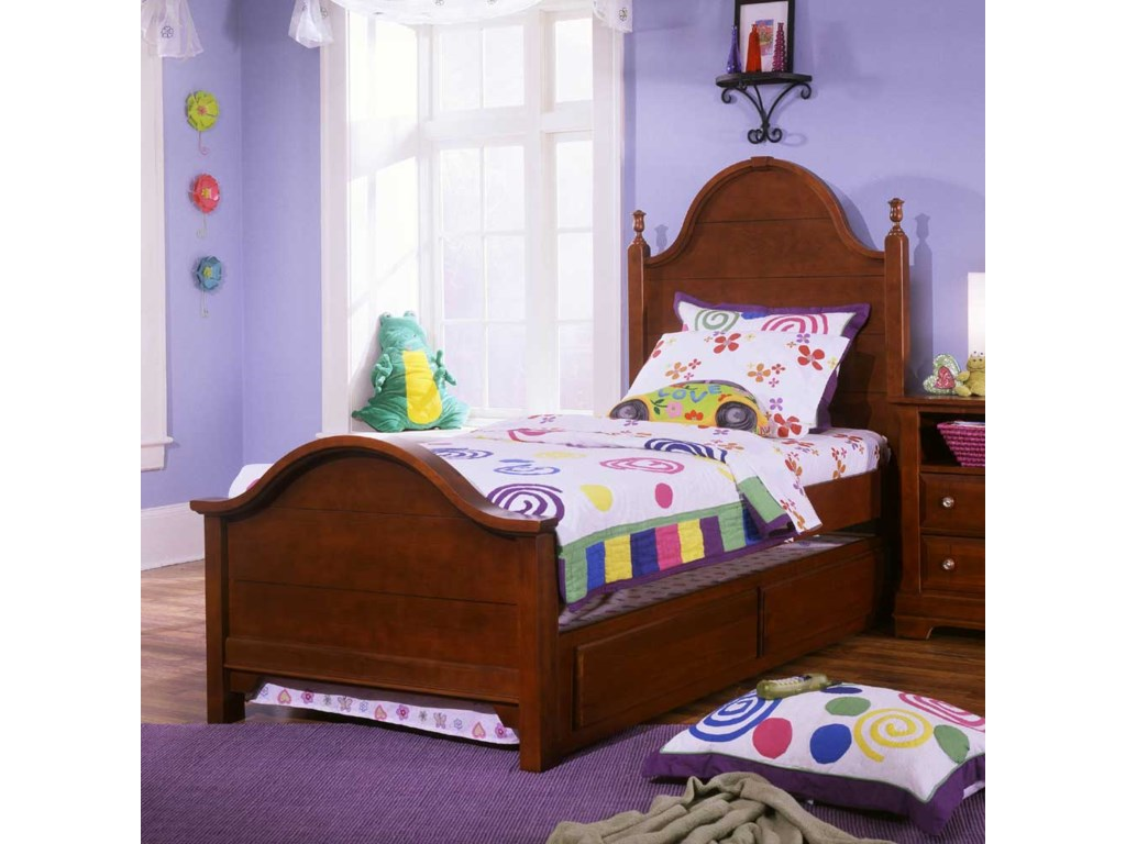 Vaughan Bassett CottageFull Panel Bed