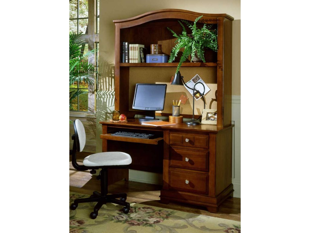 Vaughan Bassett CottageDesk & Hutch