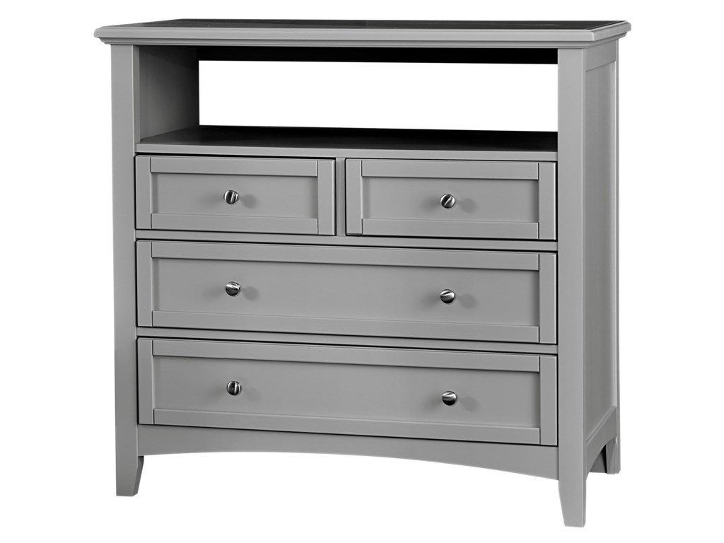 Vaughan Bassett BunkhouseMedia Unit - 4 Drawers